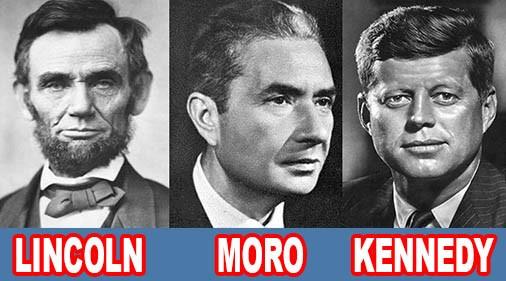 Cosa hanno in comune gli omicidi di Aldo Moro, Kennedy e Lincoln?